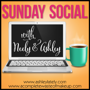 Social Sunday, A Complete Waste of Makeup