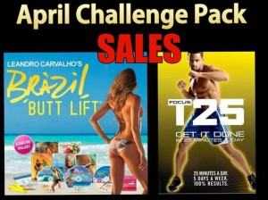 Summer Slim down, Brazil Butt Lift, Shaun T, T25, Beachbody challenge pack specials