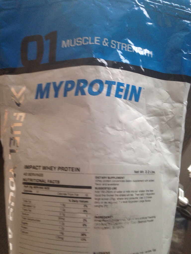 Impact Whey Protein Nutritional Info i Reviewed Impact Whey Protein