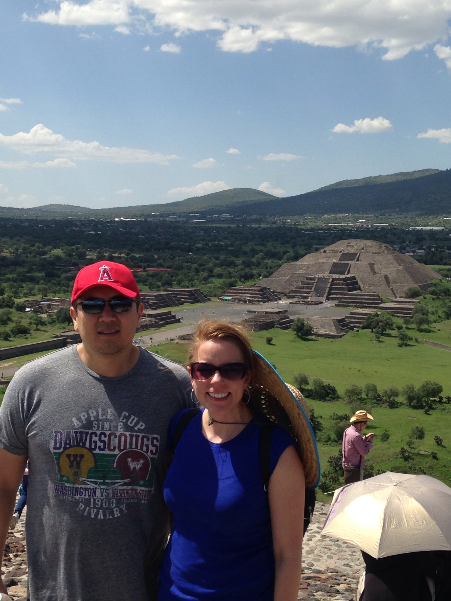 Teotihucan, Temple of the Moon, Temple of the Sun