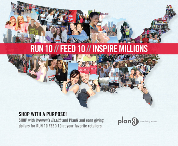 RUN10 FEED10-National Charity Race with Women's Health Magazine & FEED Foundation