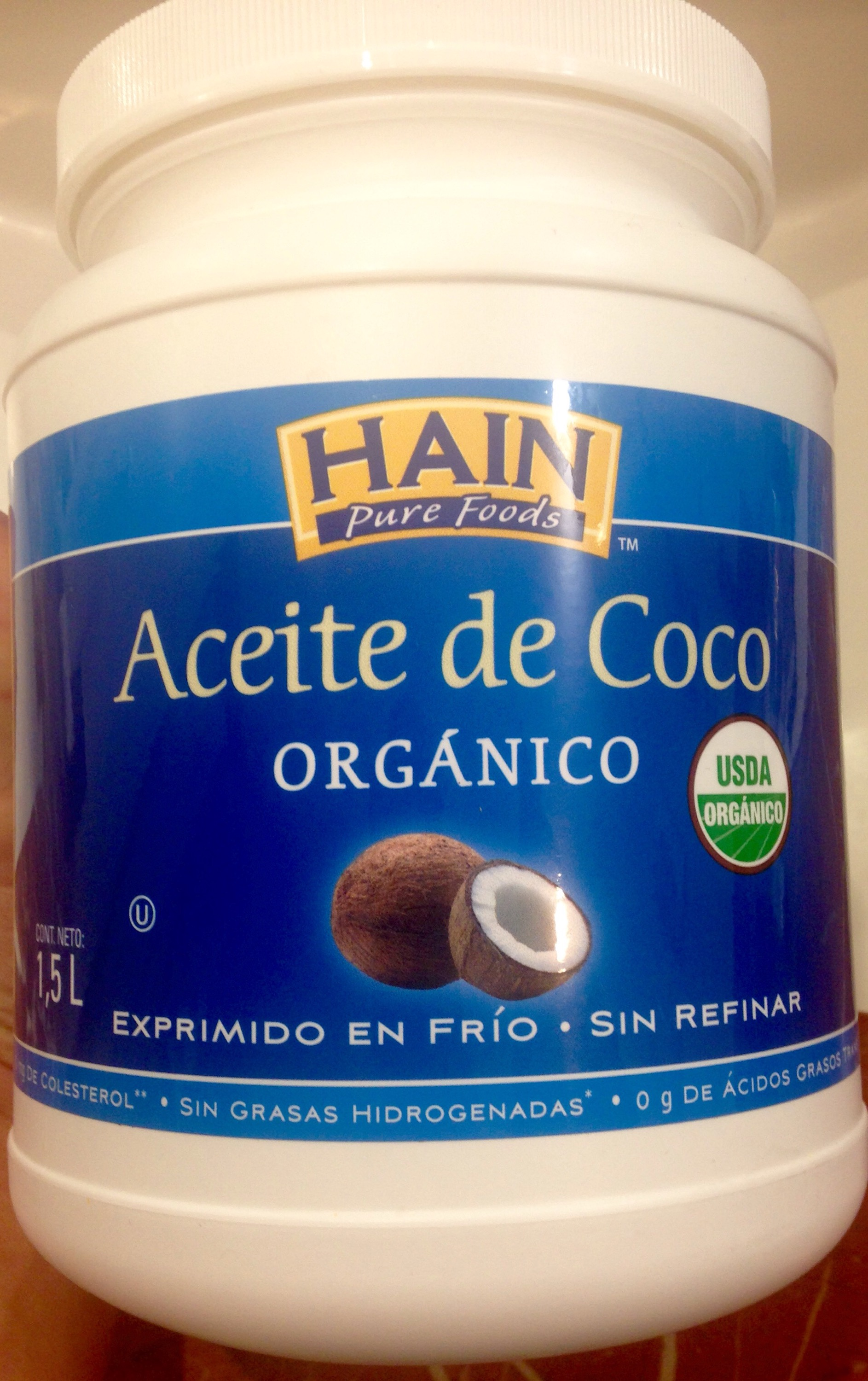 coconut oil for hair and skin